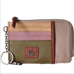 The Sak Iris Leather Card Wallet, NWOT